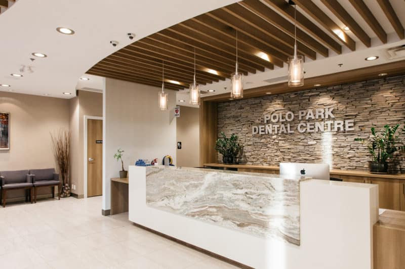 Inside view of PoloPark Dental