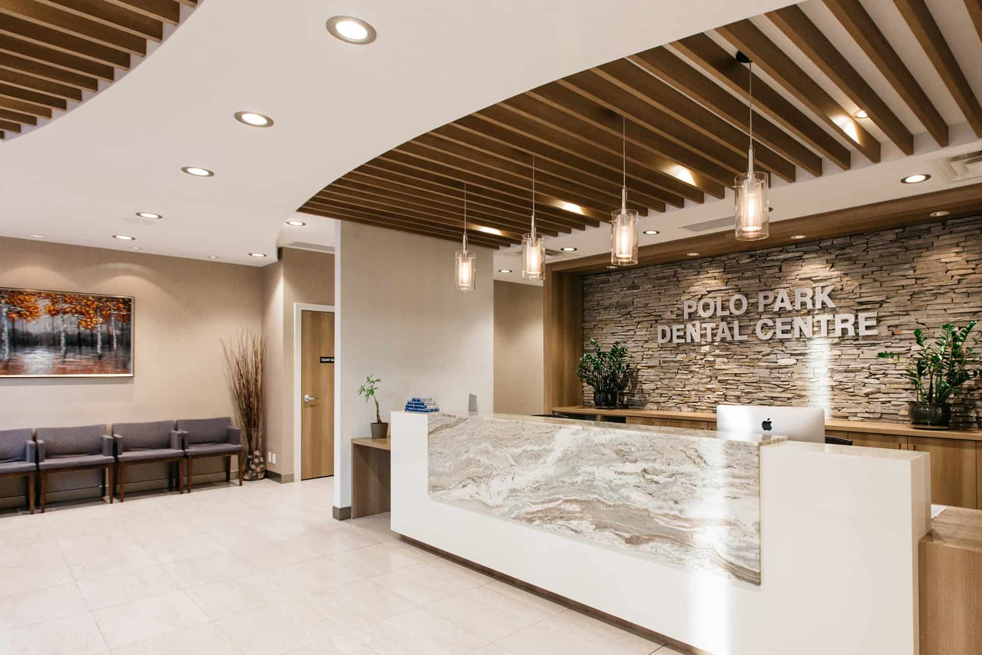 PoloPark Dental Centre Lobby