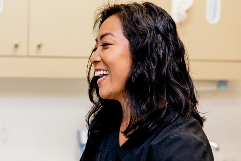 Smiling PoloPark Dental team member