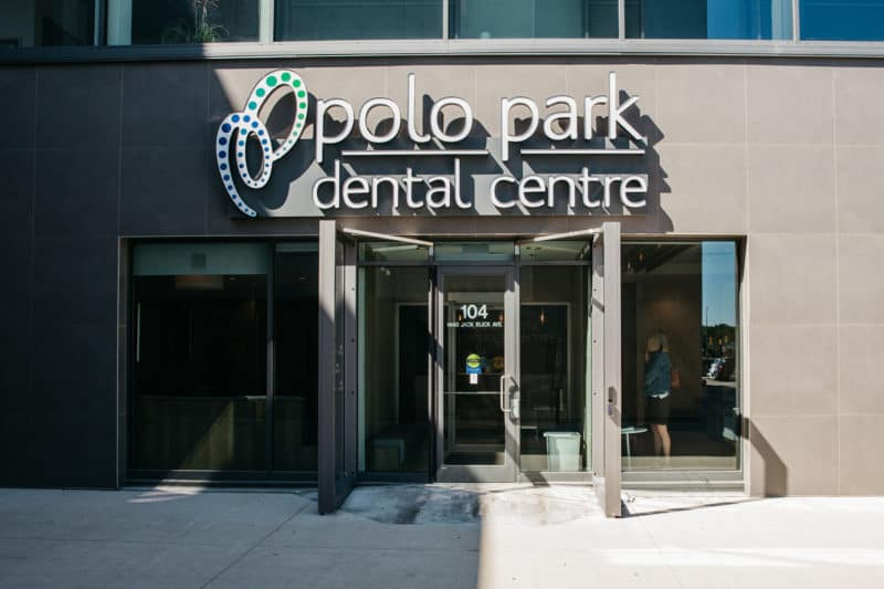 Outside with of PoloPark Dental Centre