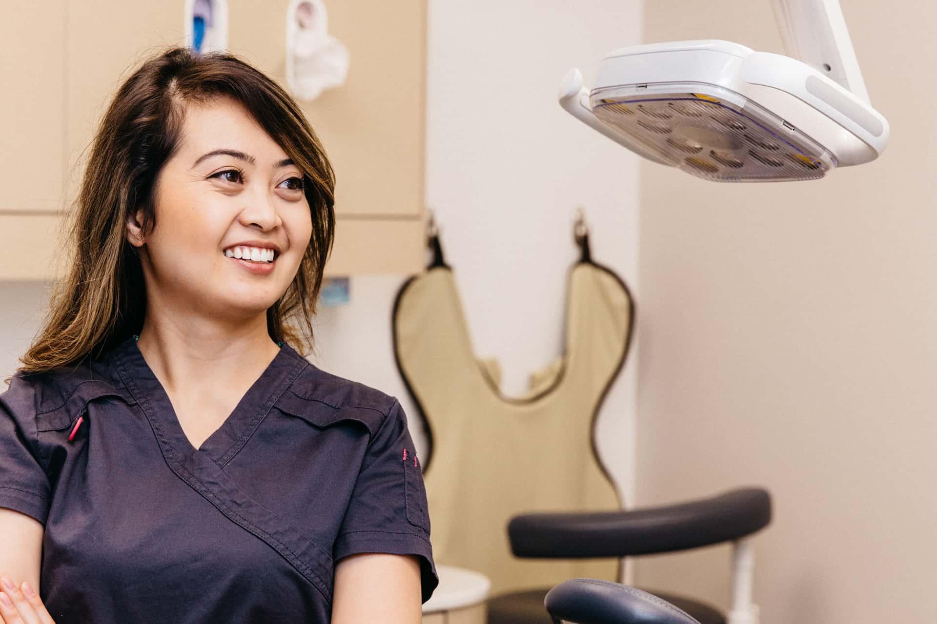 A smiling PoloPark Dental team member